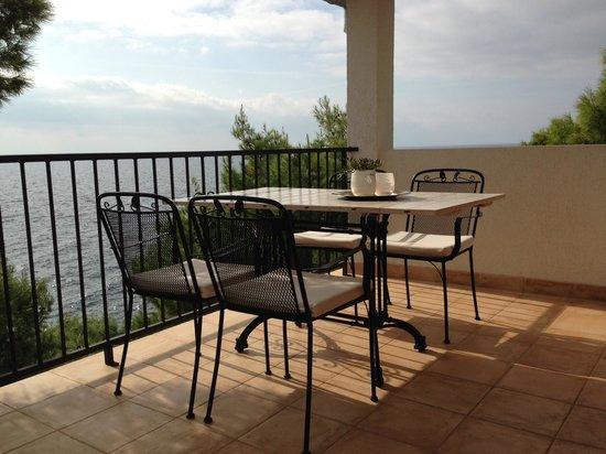 Villa pod borom: Open sea view