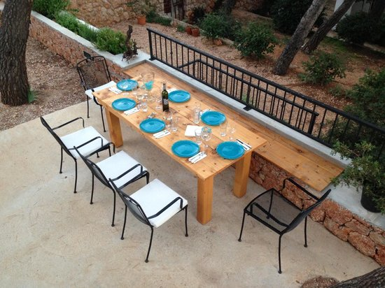 Villa pod borom: Outdoor grill area