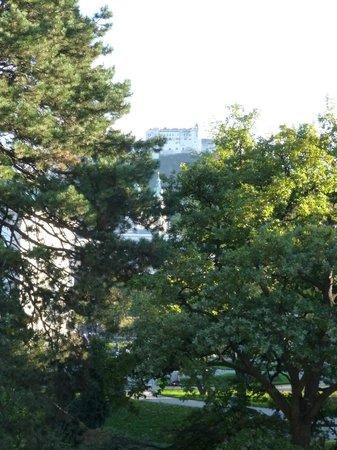 Sheraton Salzburg : Blick
