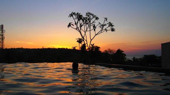 Le Meridien Bali Jimbaran : Sunset