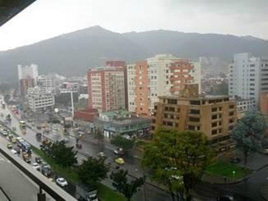 Bogota Plaza Summit Hotel: View of Bogota