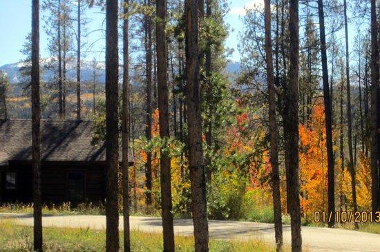 Devil's Thumb Ranch Resort & Spa: vanuit blokhut