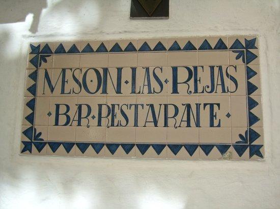 Restaurante Meson Las Rejas : Exterior