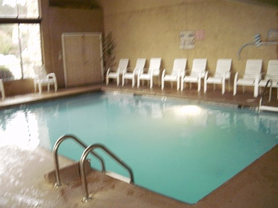Riverside Motor Lodge: pee pool
