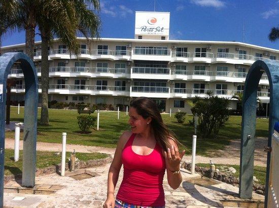 Porto Sol Beach: Patroa :)