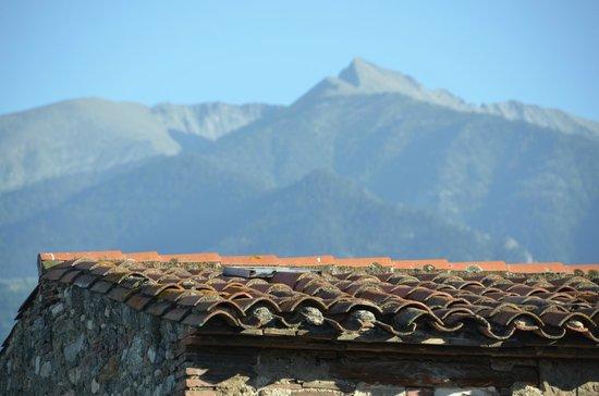 Maison Prades: Pic Canigou from our room