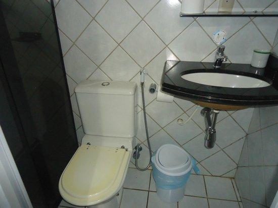 Pousada Leao Marinho: Banheiro