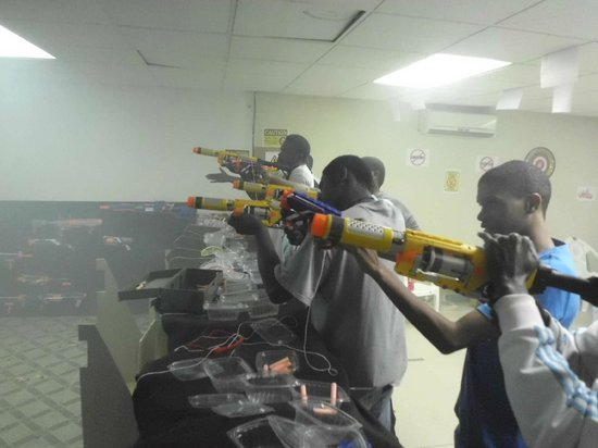 Ground Zero Gallery : Ground Shooting Gallery In Bridgetown  Nerf Guns
