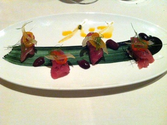1500 OCEAN: Yellow Tuna Raw of the Day (Crudo del Giorno)