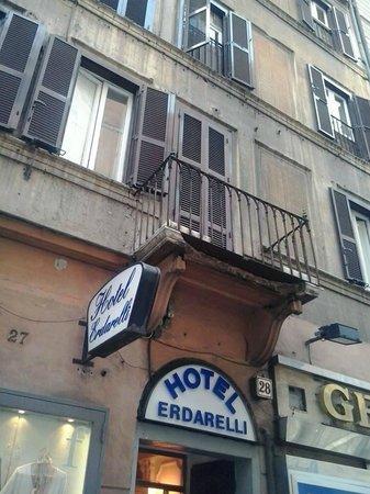 Erdarelli: Vista dell'hotel