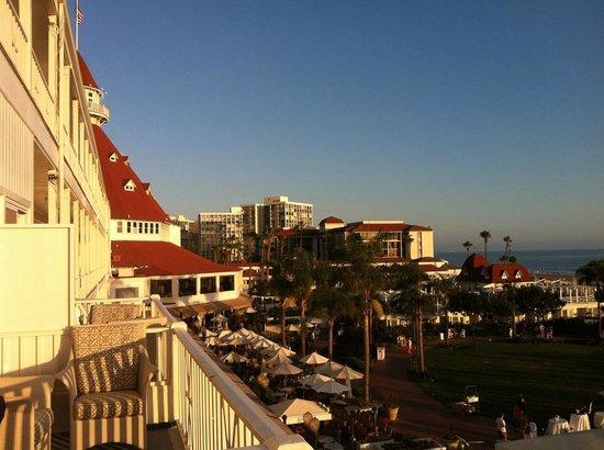 Hotel del Coronado : room's view