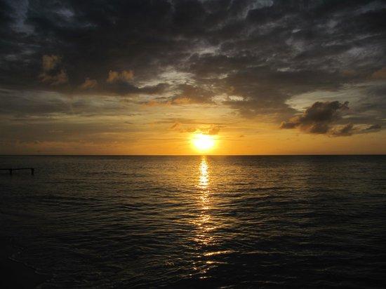 CoralSea Apartments Bonaire: Sunset in Bonaire