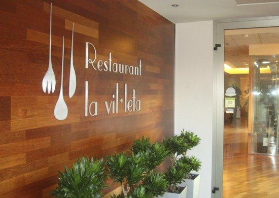 Restaurante La Vil·leta: Vestibulo