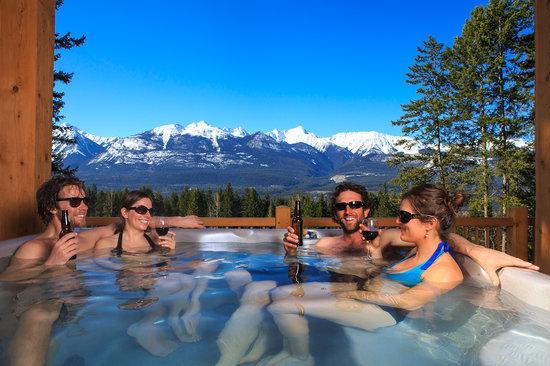 Enjoy the views in Golden, BC