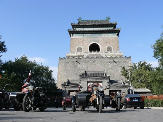 Bespoke Beijing : Sidecars & The Bell Tower
