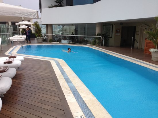 Belmond Miraflores Park : Pool on 11th floor