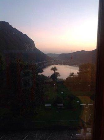 Park Hotel Rovio-Albergo del Parco: il panorama dalla nostra camera