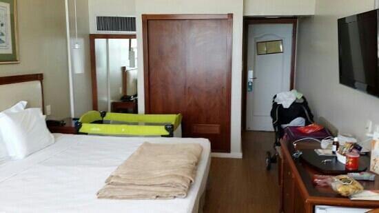 Olinda Rio Hotel: si van con bebes pedir habitación vista mar porque son grandes y entra la cuna