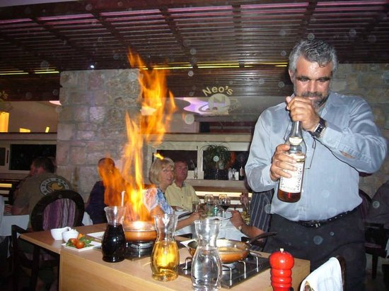 Neos Sports Club: Add a bit of Brandy for flames