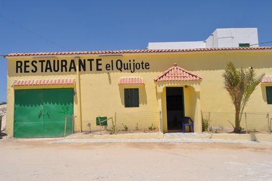 El Quijote: RESTAURANTE