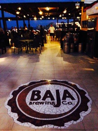 Baja Brewing Company: Baja Brew at night