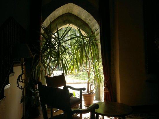 Parador de Olite : interior del Parador