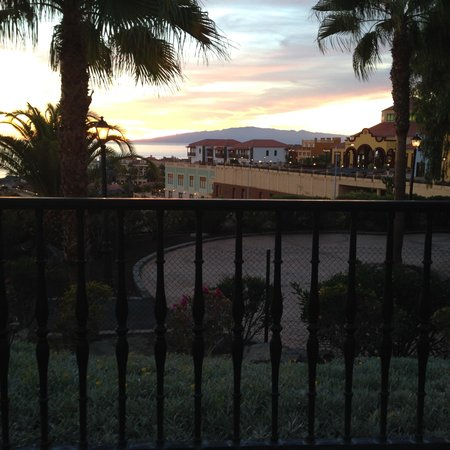 Bahia Principe Tenerife: View from the bar terrace.