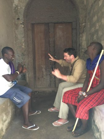 The Red Pepper House : Negotiating with the lads in Lamu town