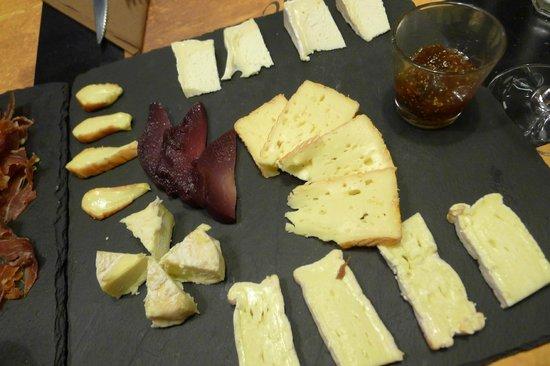 Le Vintage : Plancha cheese