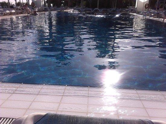 VIK Hotel San Antonio: sunbathing by the pool, lovely