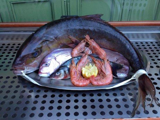 Rosso Peperoncino: Pesce fresco locale