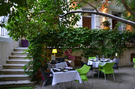 L'Atelier Gourmand : terrasse