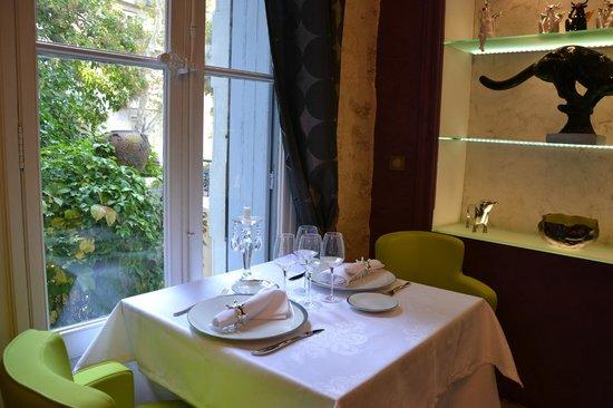 L'Atelier Gourmand : vue sur jardin
