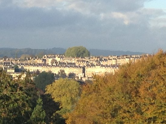 Macdonald Bath Spa Hotel: Room with a view