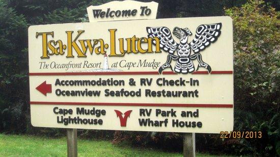 Tsa-Kwa-Luten Lodge: resort