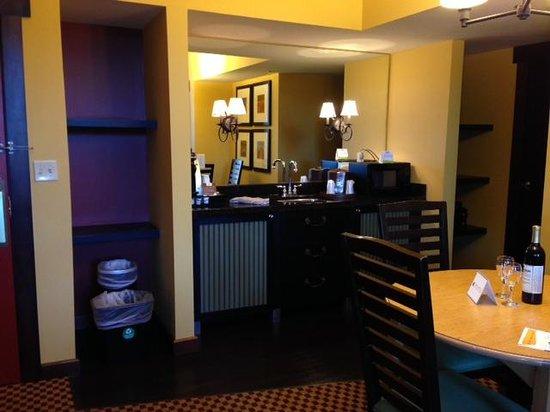 Bear Creek Mountain Resort : Living Room