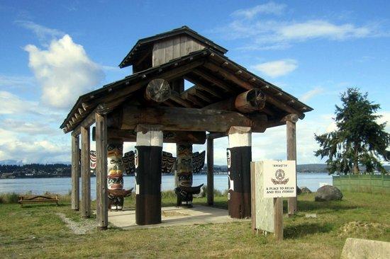 Tsa-Kwa-Luten Lodge: vertelplaats