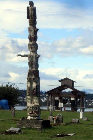Tsa-Kwa-Luten Lodge: tomtem
