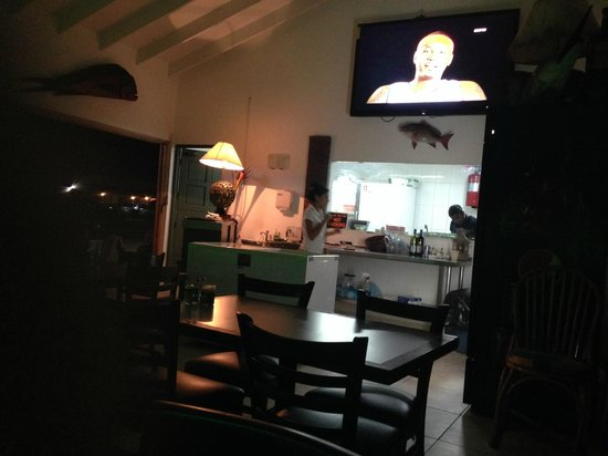 Red Fish: same view looking towards kitchen