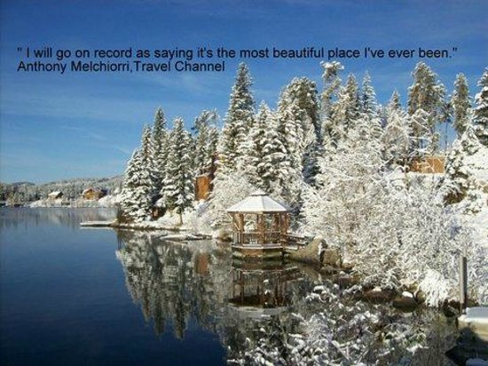 Western Riviera Lakeside Lodging & Events: Grand Lake is a Winter Wonderland!
