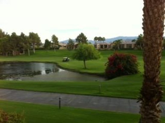 Westin Mission Hills Golf Resort & Spa : view from our room