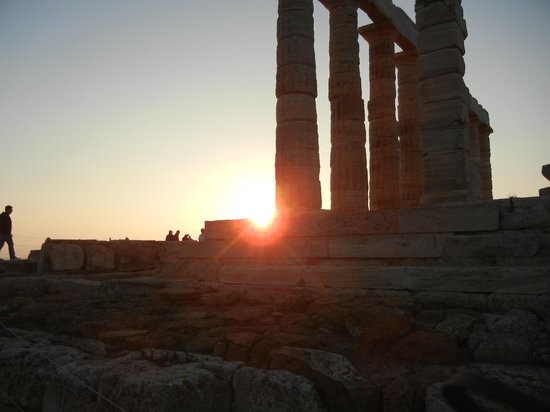 George's Taxi : Sunset Sounion