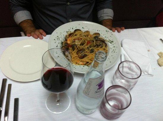 CONSOLE & CO. : Spaghettino alle vongole