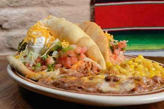 Puffy Taco - Picture of Papa Felipe's Mexican Restaurant ... Felipe's