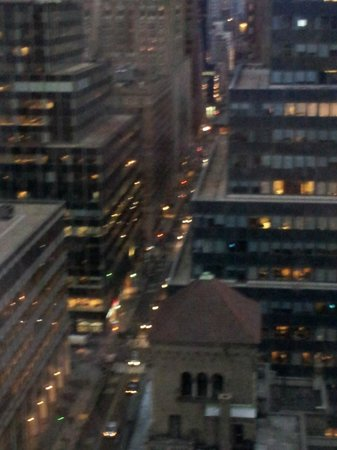 Hotel Boutique At Grand Central : NYC Streets from Hotel Boutique Balcony