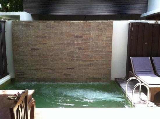 Malisa Villa Suites: Area externa da Suite