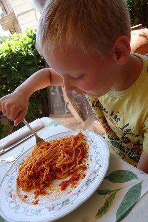 Ristorante Bosone Garden : Spaghetti all'arrabiata