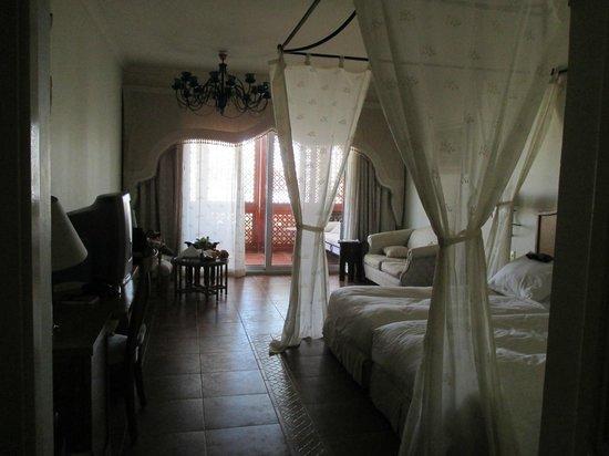 Domina Coral Bay Prestige Hotel: Vue de la chambre