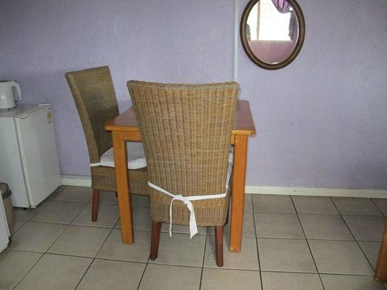 Room with a View : In-room table and chairs