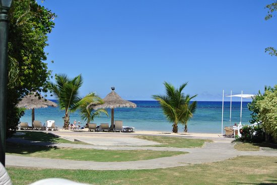 Couples Sans Souci: View of beach from main pool
